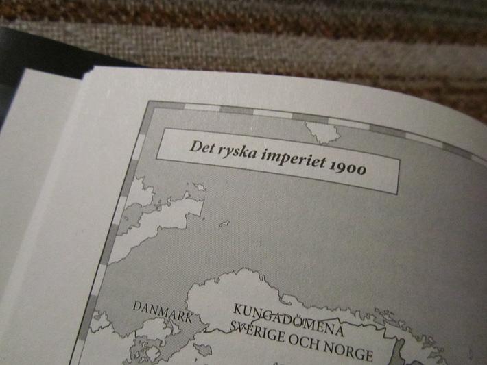 Närbild av boksida