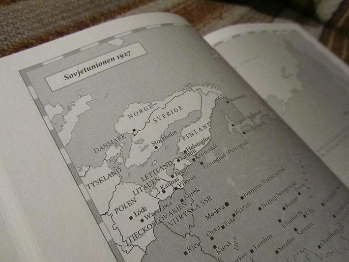 Sovjetunionen, närbild på kartan