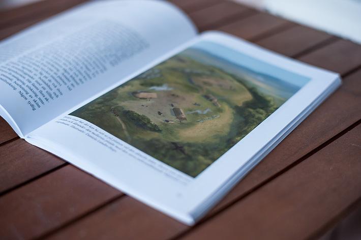 En bild av tidningen med illustrationen av gården i St Peders socken